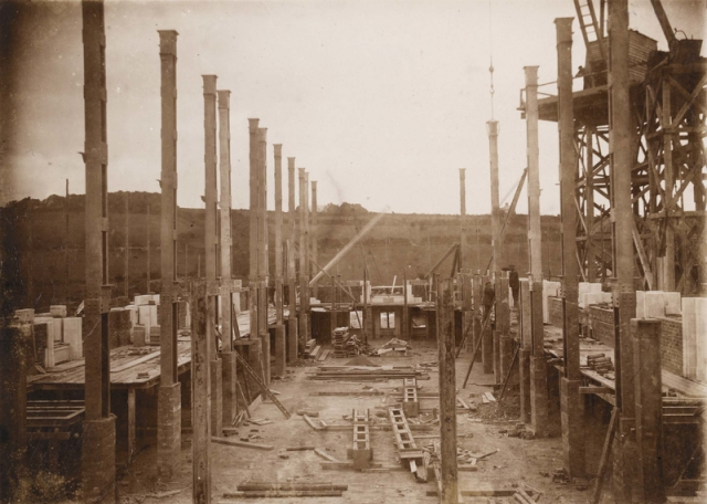 Building The National Library of Wales, 1911-1916 npc