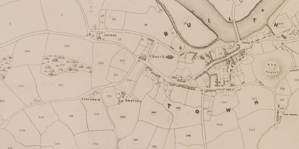 Tithe Maps of Wales | The National Library of Wales