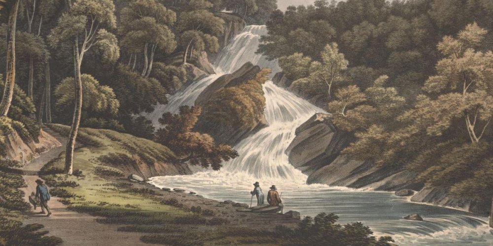 Hafod was very popular with artists and travellers during the late eighteenth and early nineteenth centuries.