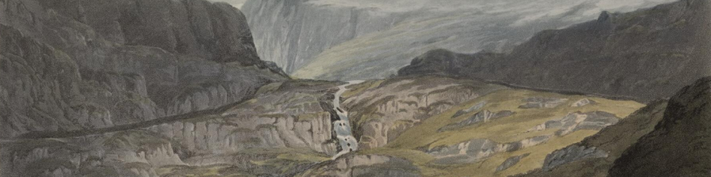Canon Yerburgh's collection contains some 340 prints of waterfalls in Wales.