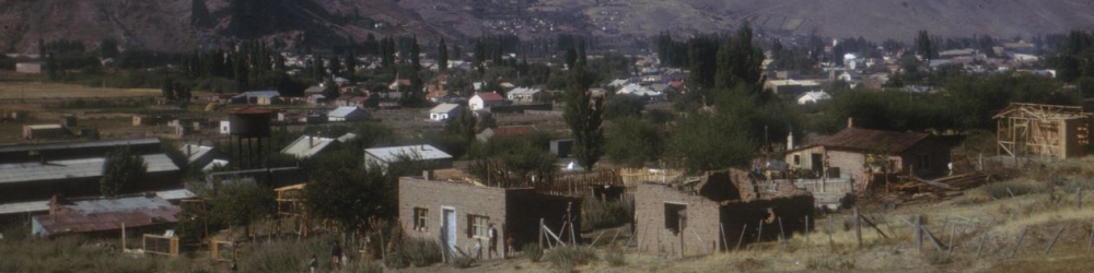 The Dwynwen Belsey collection includes photographs and slides of Patagonia taken by W. R. Owen.